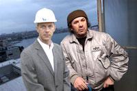 Željko Kerum and Split Mayor Kuret at hotel Marjan construction site